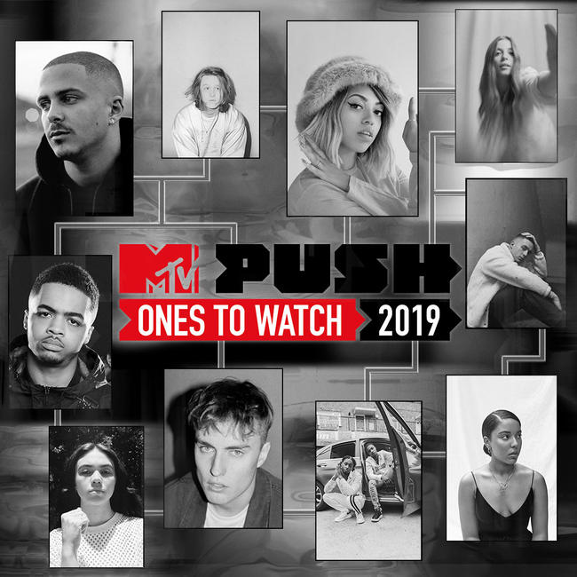 MTV PUSH: Ones To Watch 2019 Shortlist