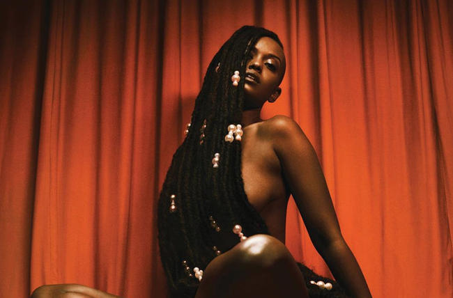 Promotional picture for Kelela's 2017 debut album 'Take Me Apart'
