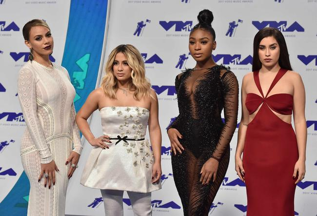 Fifth Harmony attend the 2017 MTV Video Music Awards in Los Angeles, August 2017