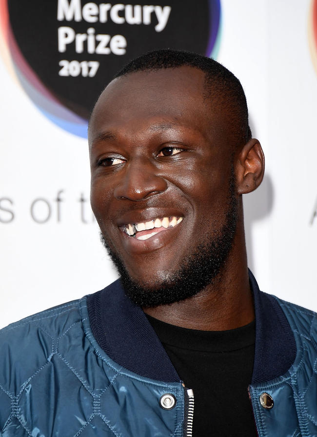 Stormzy at 2017 Mercury Prize Awards