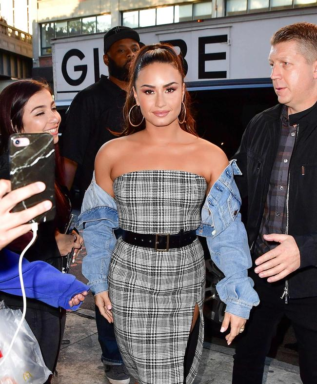 Demi Lovato in New York
