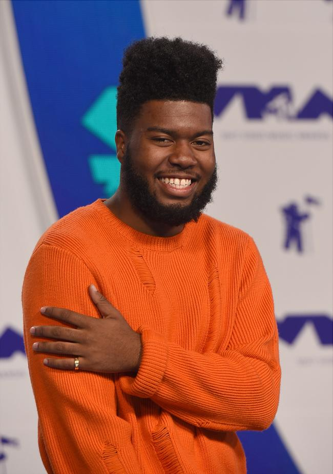 Khalid attends the 2017 MTV Video Music Awards
