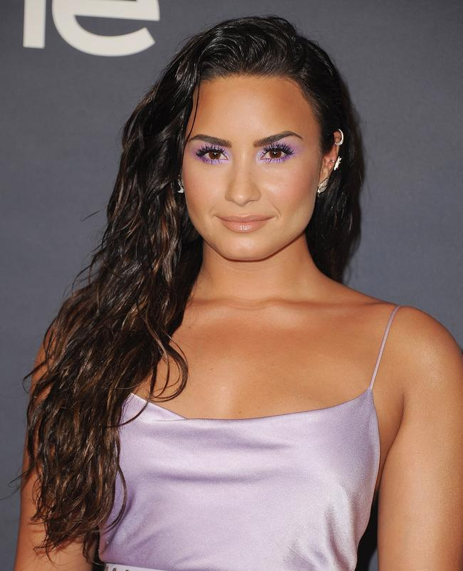 Demi Lovato arrives at the 3rd Annual InStyle Awards at The Getty Center on October 23, 2017 in Los Angeles, California