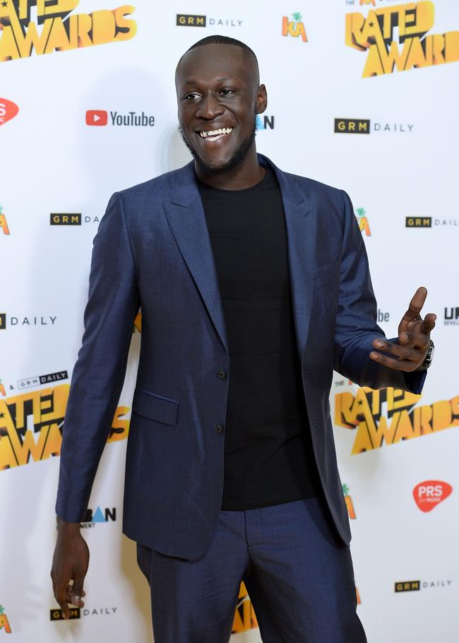 Stormzy attends The Rated Awards at The Roundhouse on October 24, 2017 in London, England
