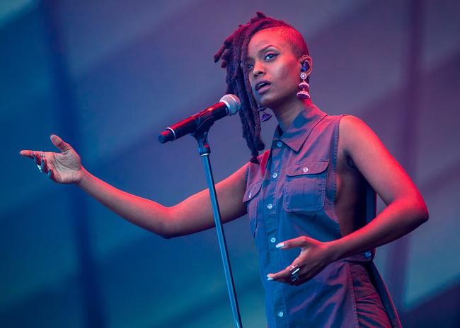 Kelela performs on July 15, 2017 in Quebec City, Canada