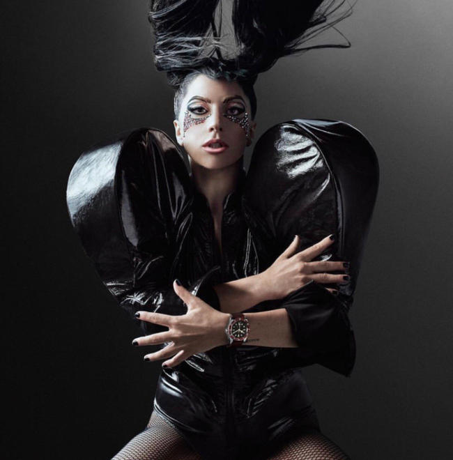 Lady Gaga's TUDOR x Gaga campaign for TUDOR watches, 2017
