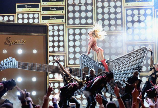 Britney Spears performs at the Billboard Music Awards in May 2016