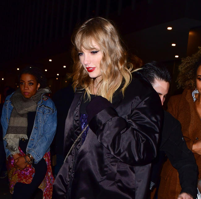 Taylor Swift spotted in New York City, 2017