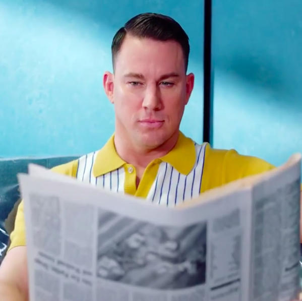 Channing Tatum stars in P!nk's 'Beautiful Trauma' music video