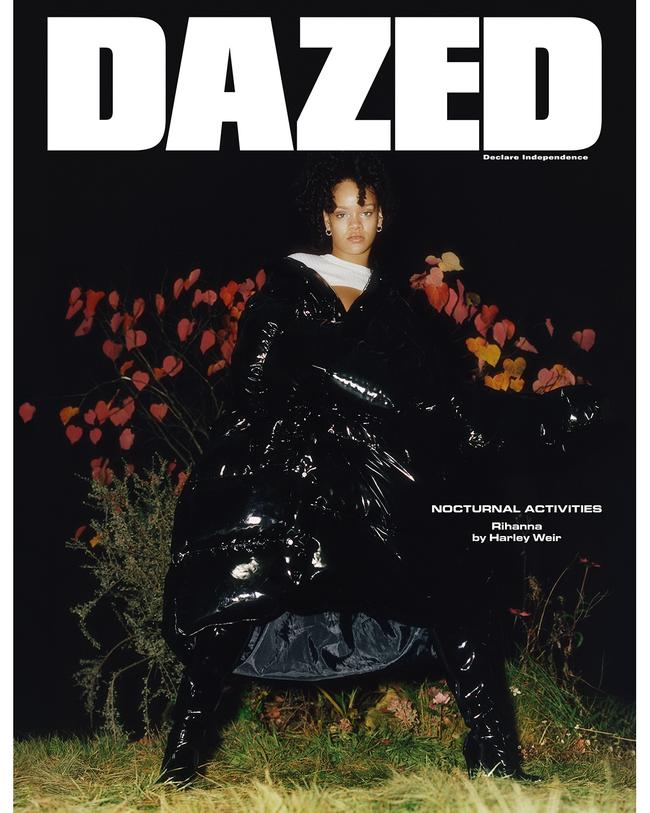 Rihanna by Harley Weir for DAZED Winter 2017