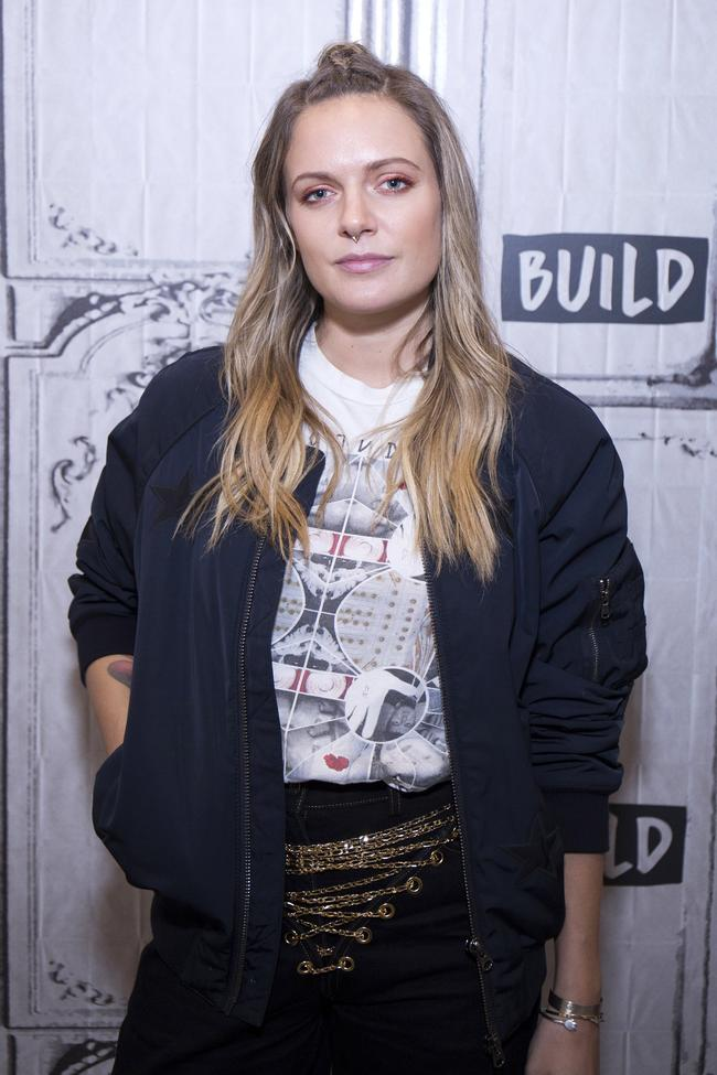 Tove Lo attends Build Presents to discuss her new album 'Blue Lips' at Build Studio on November 16, 2017 in New York City