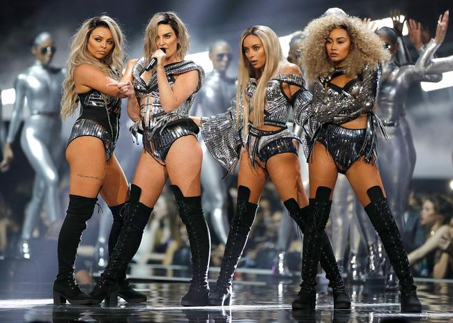 Little Mix perform 'Shout Out To My Ex' at the 2017 BRIT Awards