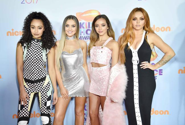 Little Mix attend the Nickelodeon Teen Choice Awards 2017