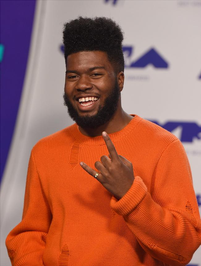 Khalid attends the 2017 Video Music Awards in Los Angeles, California