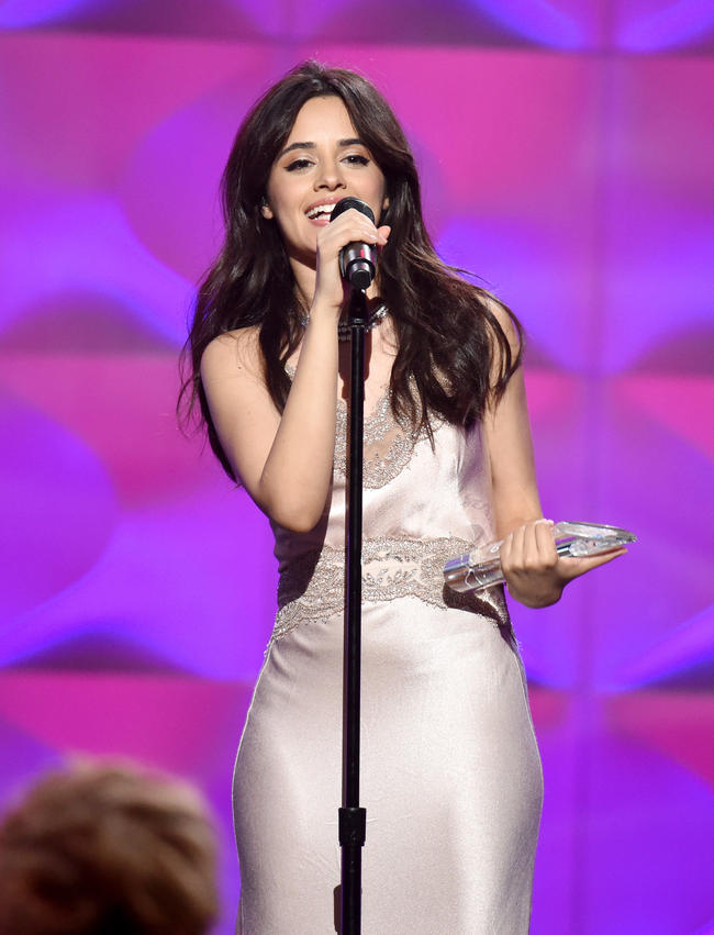 Camila Cabello performs 'Havana' at Billboard's Women In Music event, November 2017