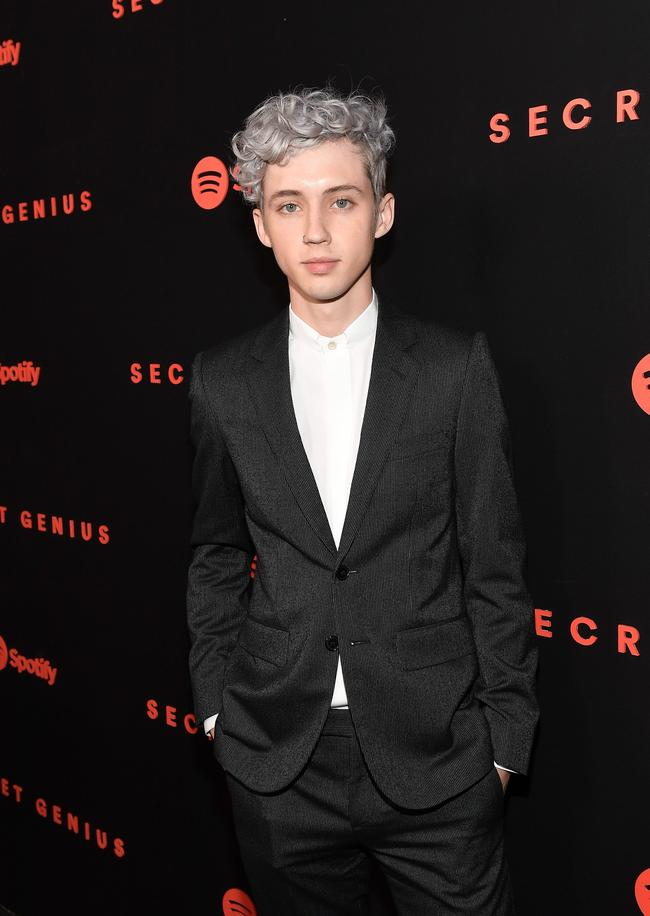 Singer Troye Sivan attends Spotify's inaugural Secret Genius Awards at Vibiana Cathedral on November 1, 2017 in Los Angeles, California