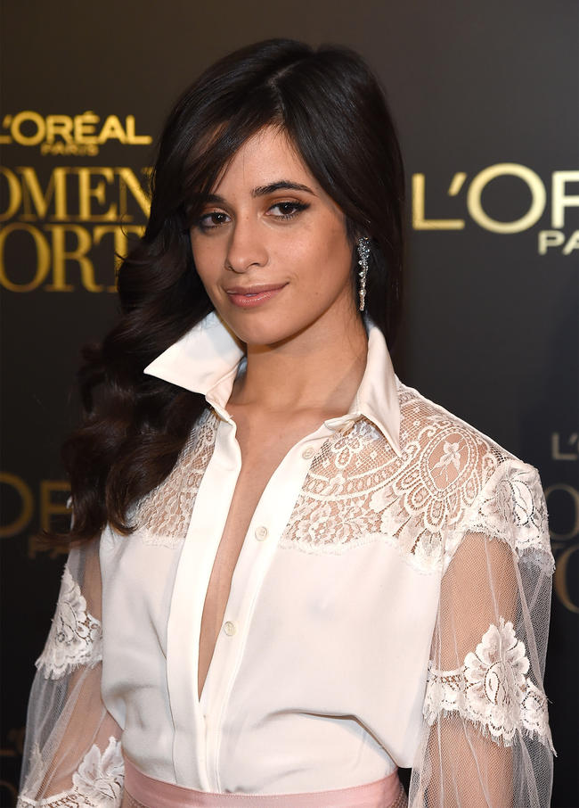 Camila Cabello attends the L'Oreal Paris Women of Worth Celebration 2017 on December 6, 2017 in New York City