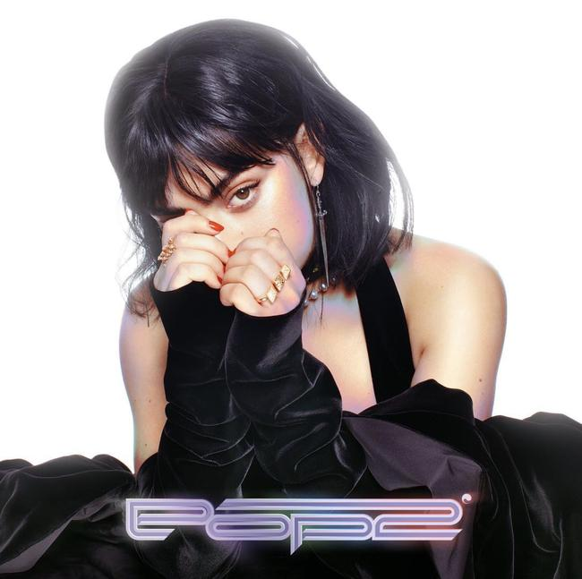 Artwork for Charli XCX's 'POP 2' mixtape released in December 2017