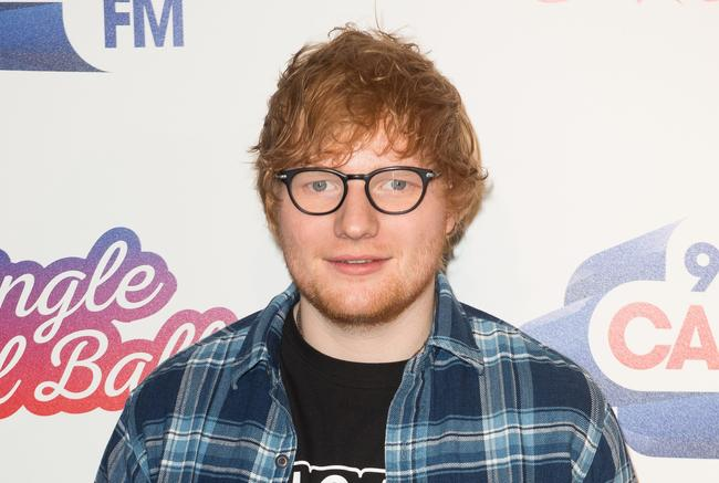 Ed Sheehan attends Capital FM's Jingle Bell Ball in December 2017 in London, England