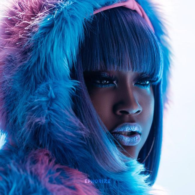 Album cover for CupcakKe's third album 'Ephorize', December 2017