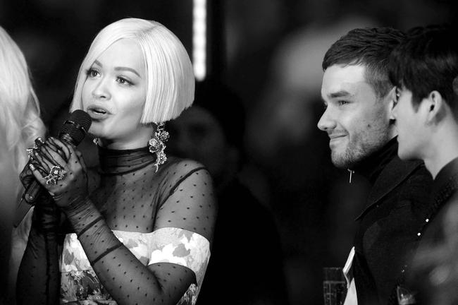 Rita Ora and Liam Payne at the 2017 MTV Europe Music Awards