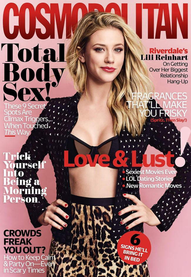 Lili Reinhart talks all things sex and relationships with Cosmo.