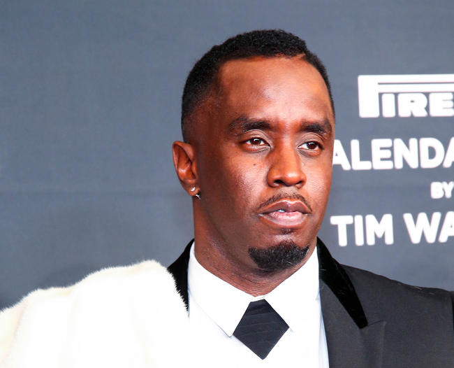 Sean 'Diddy' Combs attends Pirelli Calendar 2018 Launch Gala at The Manhattan Center on November 10, 2017 in New York City