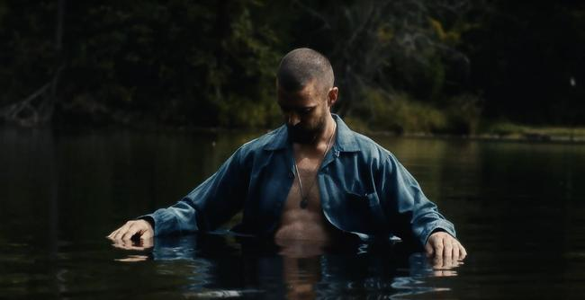 Justin Timberlake in the promotional video for the Man Of The Woods Tour 2018