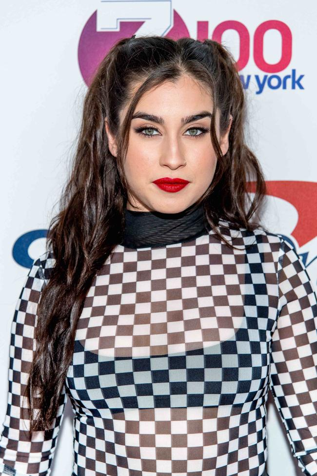 Lauren Jauregui attends Z100's iHeartRadio Jingle Ball 2017 at Madison Square Garden on December 8, 2017 in New York City
