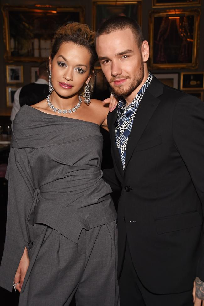 Rita Ora and Liam Payne make an appearance in 2018