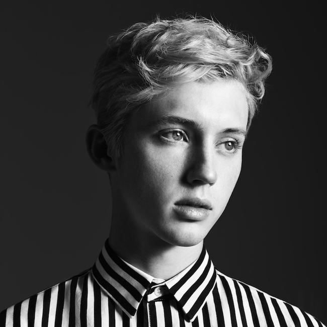 Promotional shot of Troye Sivan in 2018