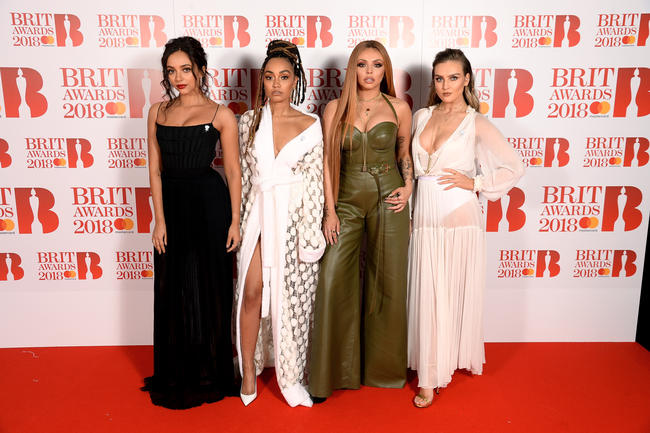 Little Mix in 2018