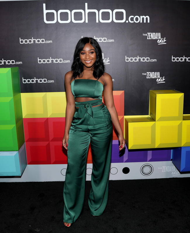 Normani Kordei attends a Boohoo.com event in LA, 2018