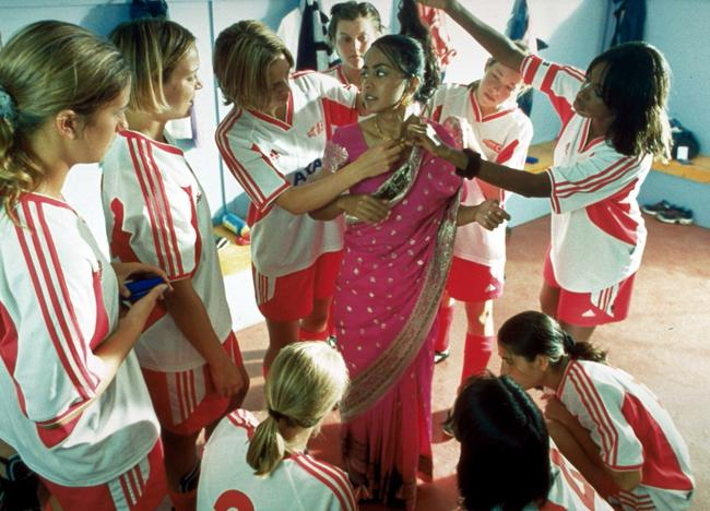 Scene still from Bend It Like Beckham