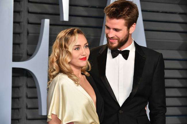 Miley Cyrus stepped in for Liam Hemsworth to promote his new movie