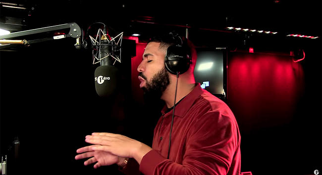 Drake and Charlie Sloth on Fire in the Booth