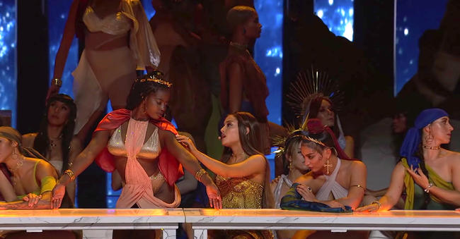 Ariana Grande's MTV VMA 2018 performance of 'God Is A Woman'