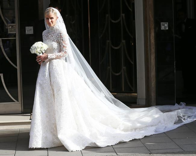 Nicky Hilton on her wedding day in 2017