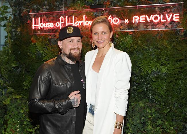 Guitarist Benji Madden and actress Cameron Diaz attend House of Harlow 1960 x REVOLVE on June 2, 2016 in Los Angeles, California
