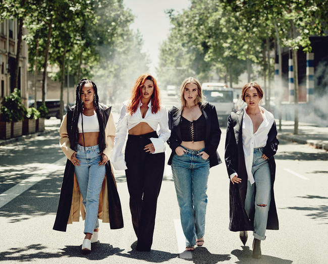 Little Mix 'LM5' fifth album artwork released in October 2018