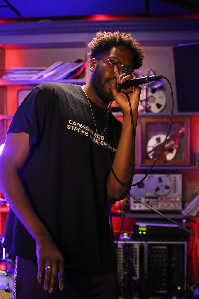 A2 performs for MTV PUSH Live at Tape London