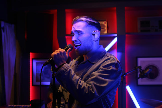 Moss Kena performs for MTV PUSH Live at Tape London
