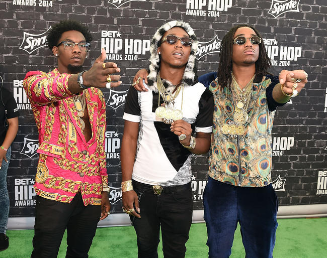 Migos make an appearance in 2017