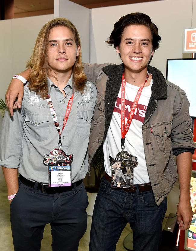 Cole Sprouse says he's embarrassed by his teenage wardrobe at University.