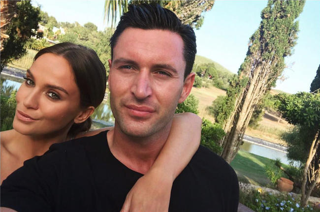 Ferne McCann missed Vicky Pattison's engagement party because of her due date