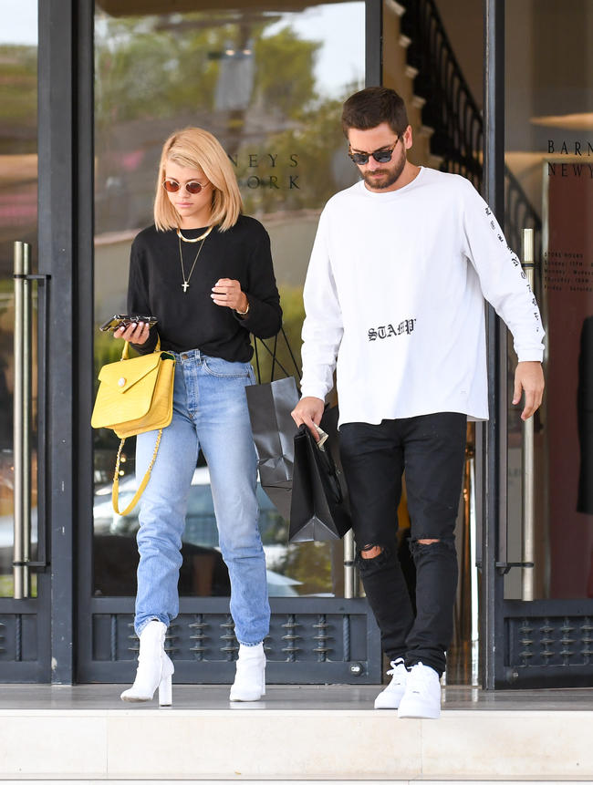 Sofia Richie opens up about being in a relationship with Scott Disick
