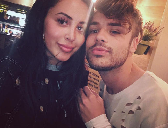 Geordie Shore's Marnie Simpson and Casey Johnson split