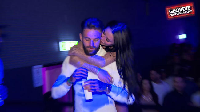 Geordie Shore's Aaron Chalmers is buzzin' about his relationship with Marnie Simpson