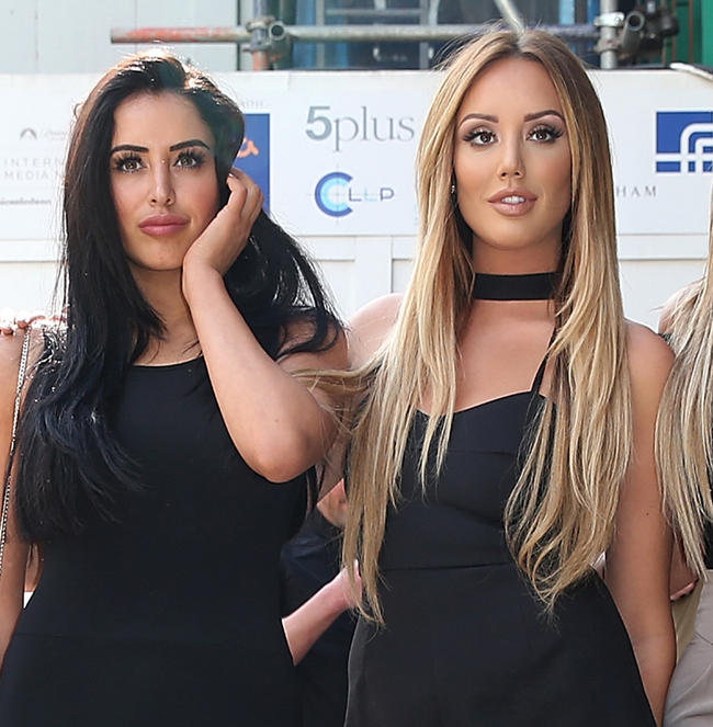 Charlotte Crosby reacts to Marnie Simpson and Casey Johnson's first meeting on Single AF