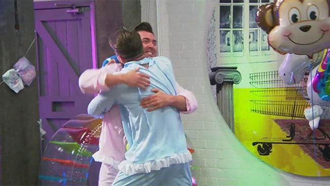 James Tindale made a return to Geordie Shore for Aaron Chalmers's birthday.
